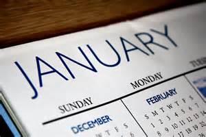 Corner January Calendar Pic