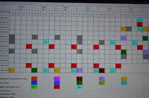 visual schedule board Pic
