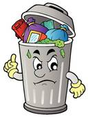 trashcan image cartoon