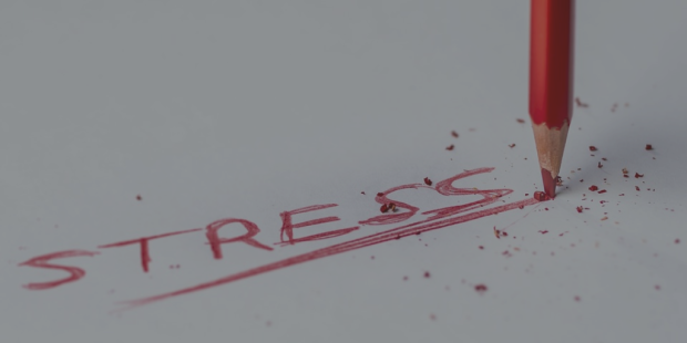 stress caption red pencil pablo